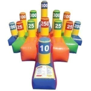 giant ring-toss inflatable party rentals michigan