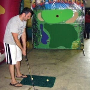 golf challenge carnival game party rentals michigan