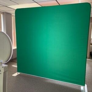 green screen social media booth back drop michigan party rentals