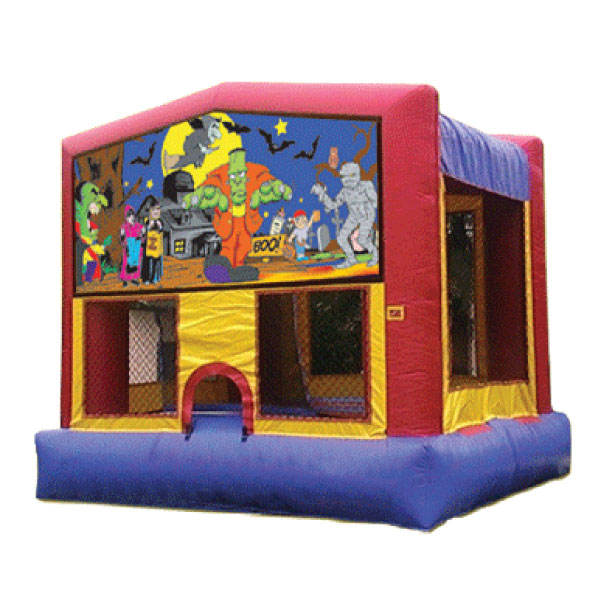 Halloween Frankenstein inflatable bounce house party rentals michigan