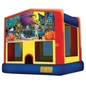 halloween mummy inflatable bounce house party rentals michigan