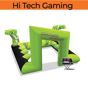 hi tech games gaming inflatable party rentals michigan 200