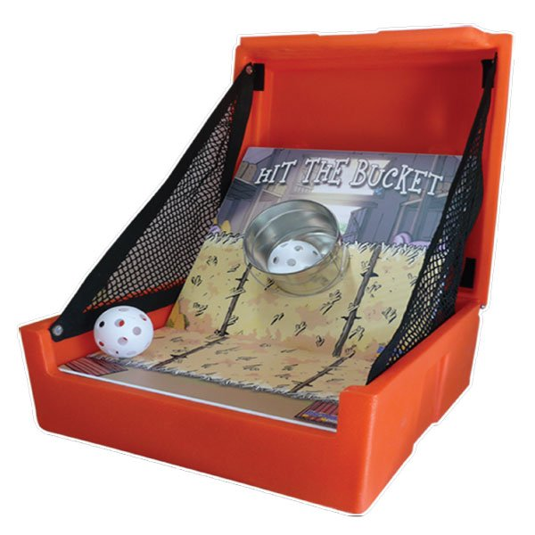 hit the bucket carnival game party rentals michigan