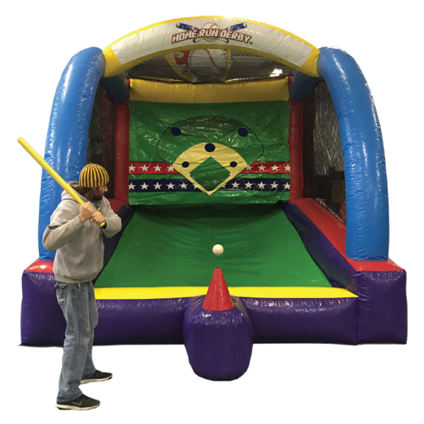 home-run derby baseball inflatable party rentals michigan