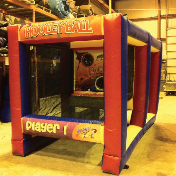 Hooley ball inflatable party rentals michigan