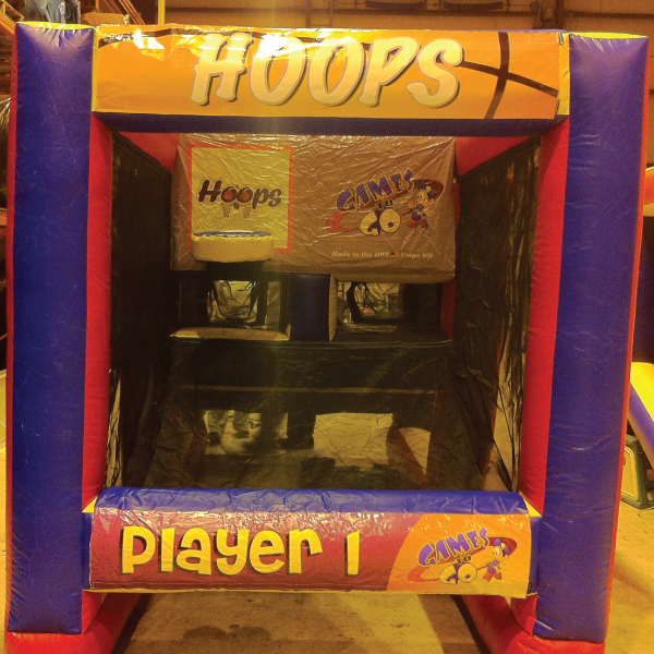 hoops basketball inflatable party rentals michigan