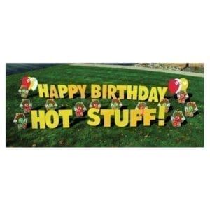 hot peppers yard greetings yard cards lawn signs happy birthday party rentals michigan