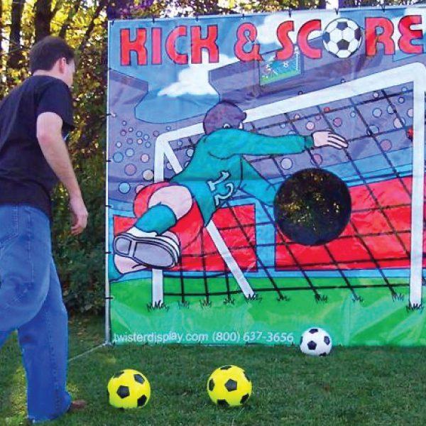 kick & score carnival game party rentals michigan