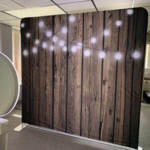 lights social media booth back drop michigan party rentals