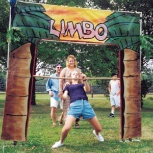 limbo hawaiian carnival game party rentals michigan