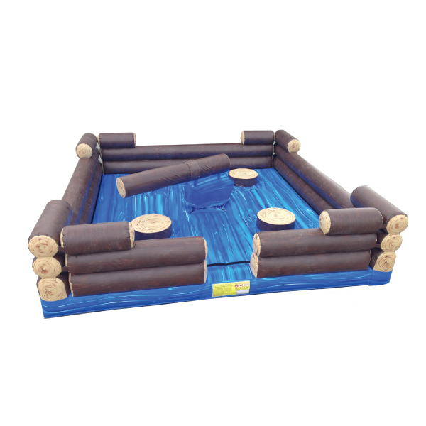 inflatable log slammer party rentals michigan 2
