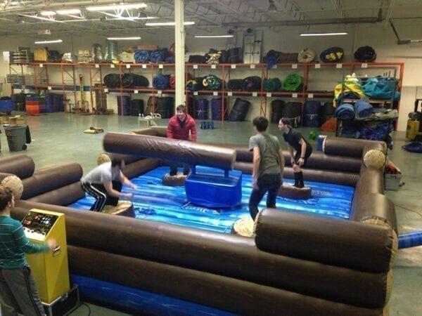 inflatable log slammer party rentals michigan 4