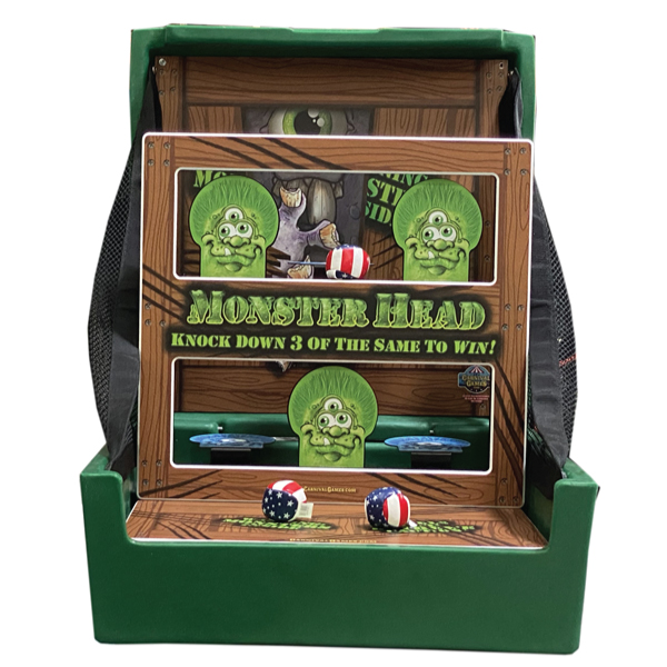 monster heads carnival games party rentals michigan