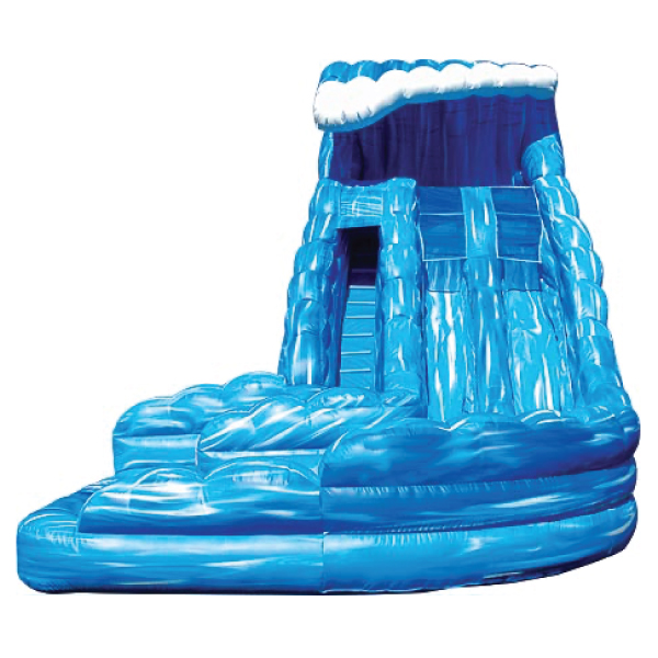 inflatable monster wave water slide rental Michigan party