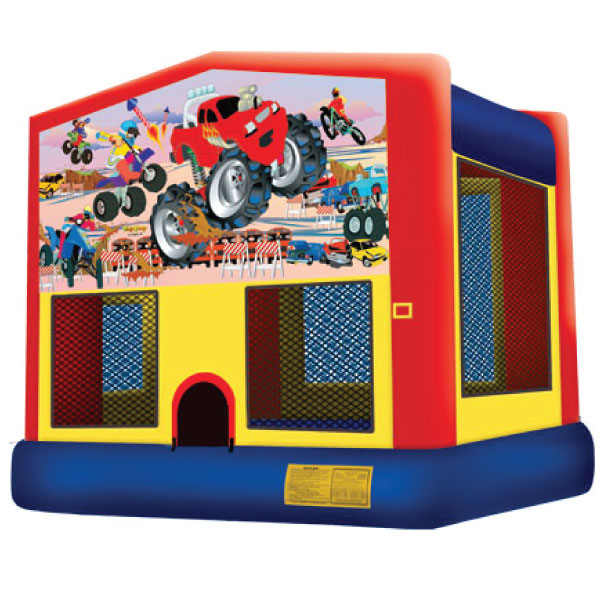 motor sports inflatable bounce house party rentals michigan