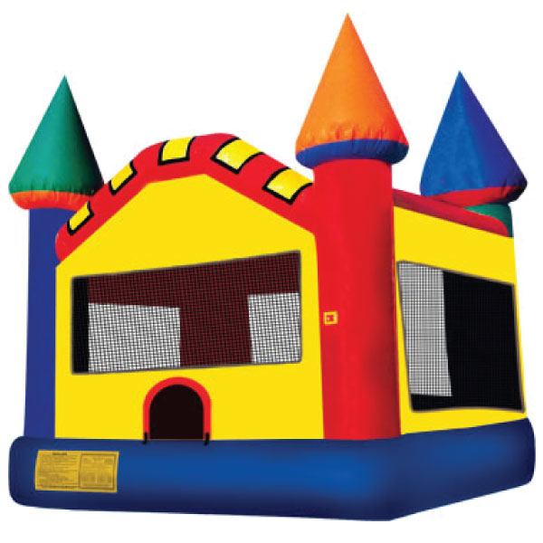 multi color inflatable bounce house party rentals michigan