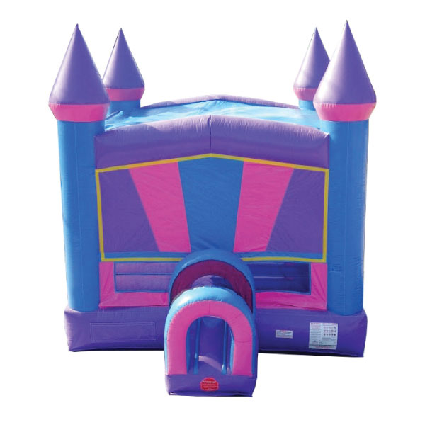 pink castle inflatable bounce house party rentals michigan