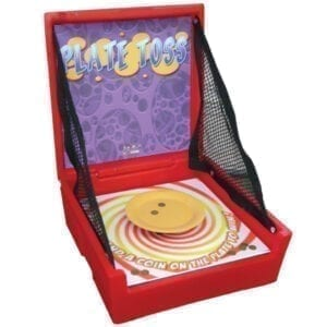 plate toss carnival game rentals party michigan