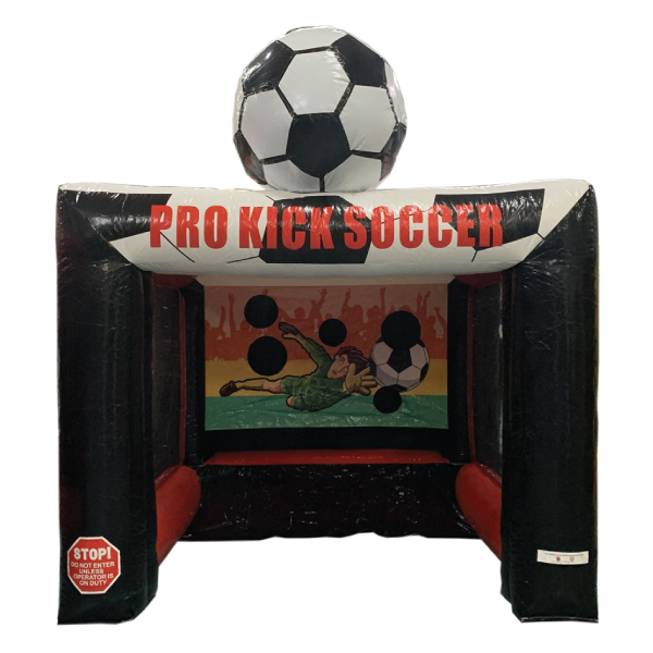 pro kick soccer inflatable party rental michigan