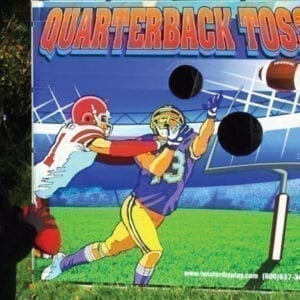 quarterback toss carnival game party rentals michigan