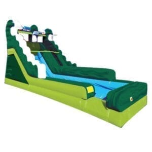inflatable riptide water slide rental Michigan party