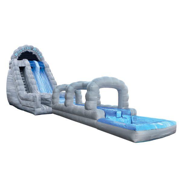 inflatable roaring river water slide Michigan