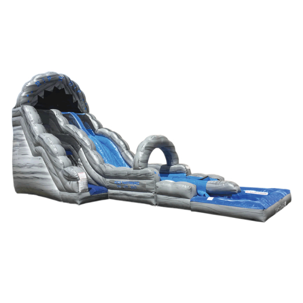 inflatable rip & dip water slide rental Michigan party