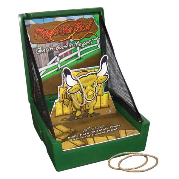 rope the bull carnival game rental michigan