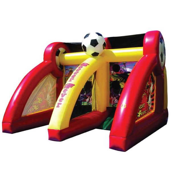 soccer fever inflatable rental party michigan