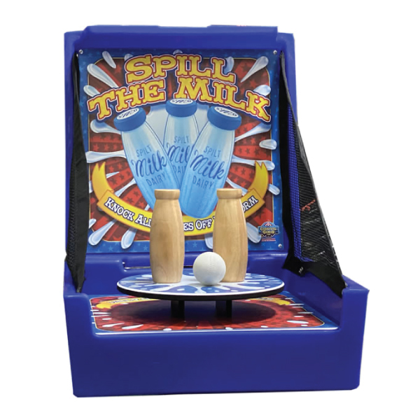 spill the milk carnival game party rental michigan