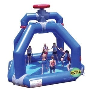 inflatable splasher water rental Michigan party