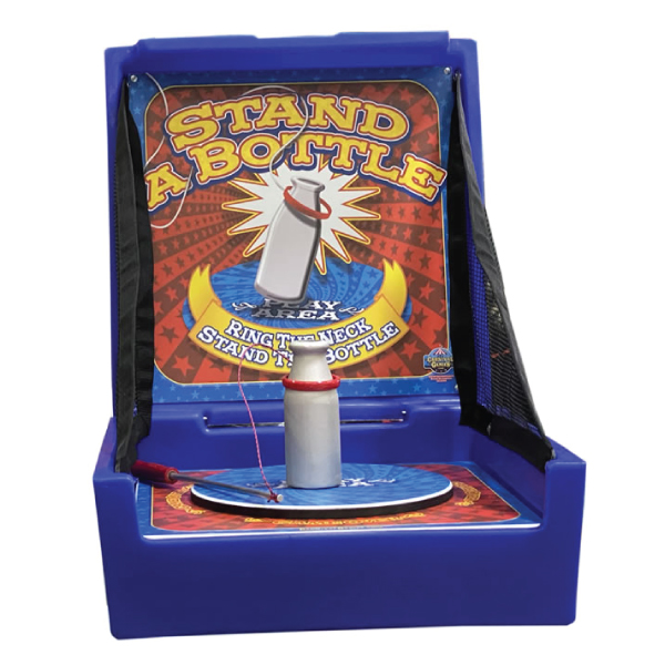 stand the bottle carnival game party rentals michigan