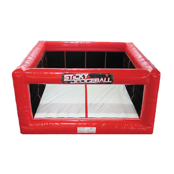 velcro sticky dodgeball inflatable party rentals michigan 2