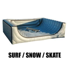 rent a mechanical surfboard in michigan party rentals