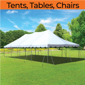 tent tables chair rentals michigan