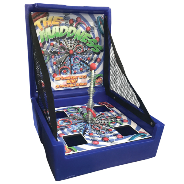 the madness carnival game rental michigan
