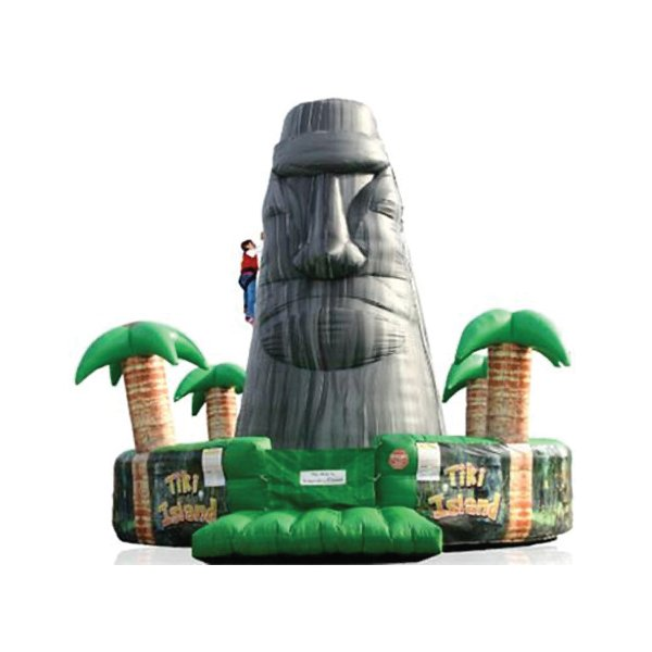 inflatable rock wall rental party michigan