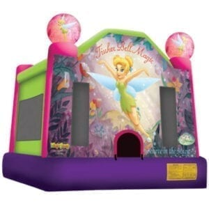disney tinkerbell inflatable bounce house party rentals michigan