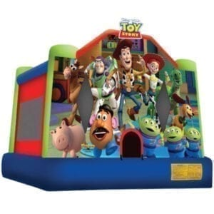 disney toy story inflatable bounce house party rentals michigan