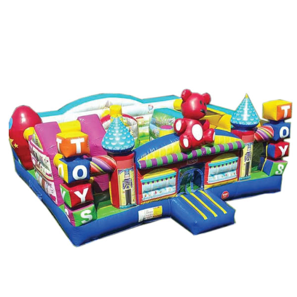 Toy Town Inflatable Bounce Slide Combo Party Rentals Michigan