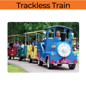 trackless train rentals in michigan party rentals 200