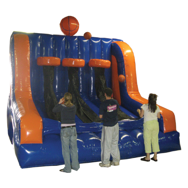 Triple Shot Basketball Inflatable Party Rentals Michigan