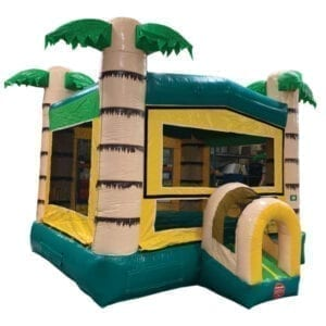 inflatable tropical bounce house party rentals michigan