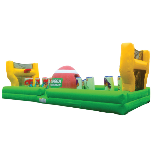 tugger touchdown inflatable party rentals michigan