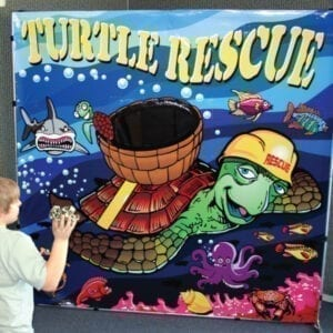 turtle toss carnival game party rentals michigan