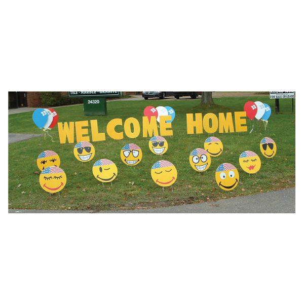 yard greetings yard cards lawn signs happy birthday party rentals michigan