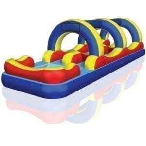 inflatable wild splash slip-n-slide rental Michigan party