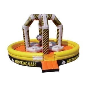 inflatable wrecking ball party rentals michigan