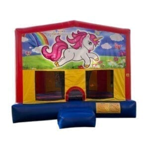 unicorn bounce house rental michigan inflatable party rentals 15x15