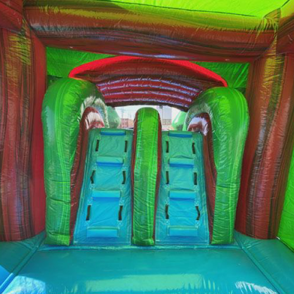 water ruby castle combo bounce slide combo inflatable party rentals michigan 4